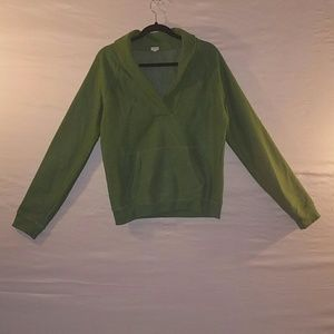 EUC Gorgeous Green Cowl neck Sweater with Pocket